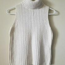 Express Ramie Cotton Sweater Turtleneck Tank Size S Photo