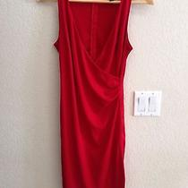 Express Red Dress Size 7 Photo