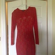 Express Red Sexy Cocktail Dress  Size Small Photo