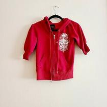 Express Red Short Sleeve Hoodie Size Xs Photo