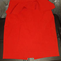Express Red Skirt Size 0 Photo