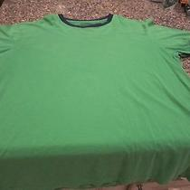 Express Ringed T-Shirt - Green/blue - Large Photo