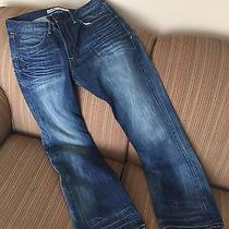 Express Rocco Men Jeans 34x32 Slim Boot Like New Photo