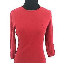 Express S Sweater Cashmere Red Small Women's Photo