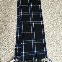 Express Scarf Blue White New With Tags Photo