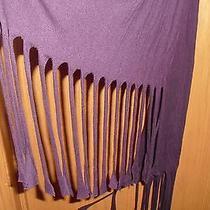 Express Scarf - Lightweight Summer Scarf - Dark Purple Photo