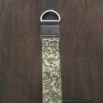 Express Sequin Brown and Gold Belt Photo