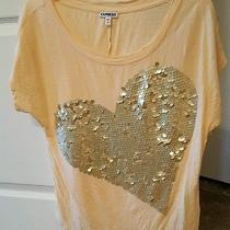 Express Sequin Heart Tank Small Photo