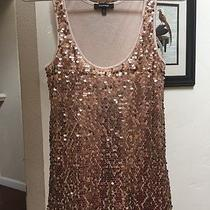 Express Sequin Tank Blush Photo