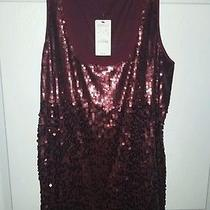 Express Sequin Tank New With Tag Size Large  Photo
