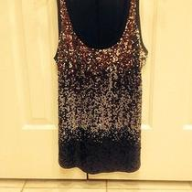 Express Sequin Tank Size Small Photo