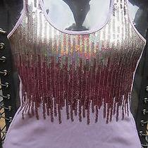 Express Sequin  Tank Top Photo