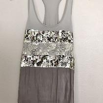Express Sequined Tank Top Photo