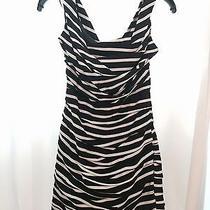 Express Sexy Black and White Dress - Size 0 Photo