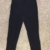 Express Sexy Stretch Crop Legging Black Size S Photo
