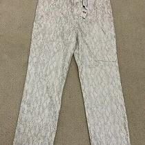 Express Shiny Snake Skin Super High Rise Pant Size 8 New With Tags Photo