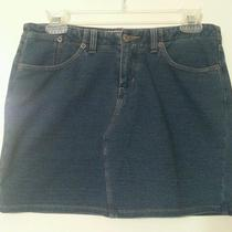 Express Short  Mini Jeans Stretch Denim  Skirt Size 3/4 Photo
