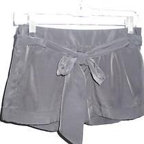Express Short Size 00 Black Dress Shorts With Belt Photo
