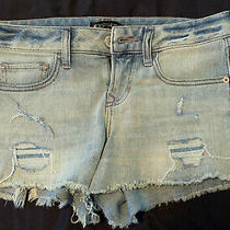 Express Shortie Low Rise Jean Shorts Size 2 Photo