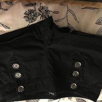 Express Shorts Sailor Black Size 8 Photo