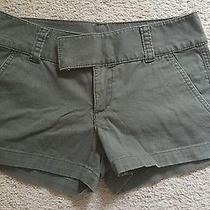Express Shorts Size 2 Olive Green Euc Photo