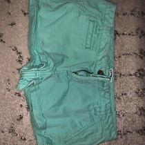 Express Shorts Size 4. Teal Great Condition. Photo