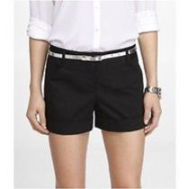 Express Shorts Size 6 Black Nwt Photo