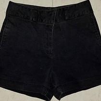Express Shorts Women Juniors Size 3/4 - Black Photo