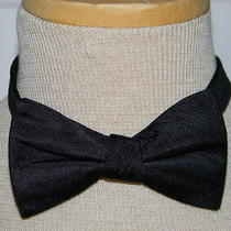 Express Silk Bow Tie Black Photo
