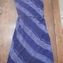 Express Silk Dress - Size1/2 Photo