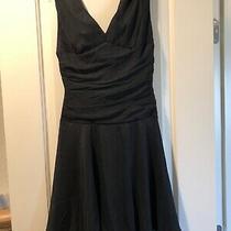 Express Silk Lbd Little Black Dress Fit Fare New Was 98 - Nwt Photo