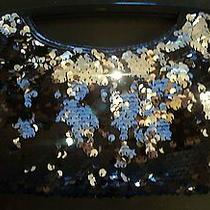 Express Sillver and Black Clutch (Brand New W/tags) Photo