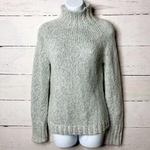 Express Silver Gray Mock Neck Sweater Women's Size M Photo