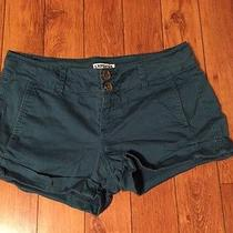 Express Size 2 Blue Shorts Cotton/spandex Photo