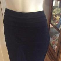Express Size 2 Bodycon From Fitting Black Stretch Skirt Womens Photo