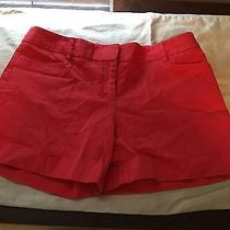 Express Size 8 Women's Orange Formal Shorts Photo
