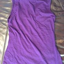 Express Size Large Purple Sleeveless Mock Turtleneck  Photo