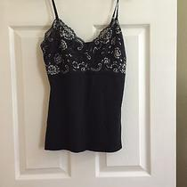 Express Size S Black Lace Trimmed Camisole Photo