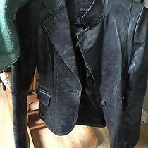 Express Size Xs Black Leather Jacket Photo
