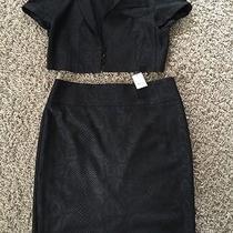 Express Skirt and Jacket Black Size 8  Photo