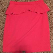 Express Skirt Coral Size 6 Photo