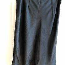 Express  Skirt   Gray / Blue-Gray Fully Lined Size 3 / 4 Photo