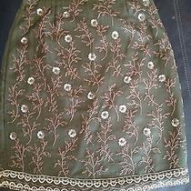 Express Skirt Size 1 Sequins & Silk Photo