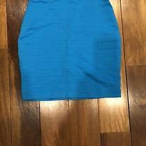 Express  Skirt Size 2 Blue. Photo