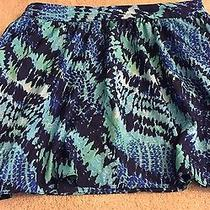 Express Skirt Size 8 Blue With Pockets Photo