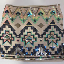 Express Skirt Size Xs Embellished With Sequence Photo