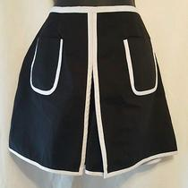 Express Skort Sz Med  Retro  blk& Wht   Nwt Retail  49.00 Fun Great Gift Photo