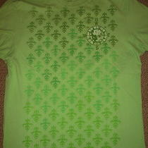 Express Skull Summer Shirt T Shirt Graphic Muscle Green S  Photo