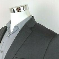 Express Slim Fit Gray 2 Button Blazer Sport Coat Jacket Mens Size 38 R Photo