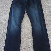 Express Slim Fit Straight Leg Jeans 32x32 Photo